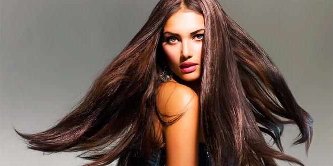 Regeneračná vlasová kúra v spreji, strihanie a farbenie