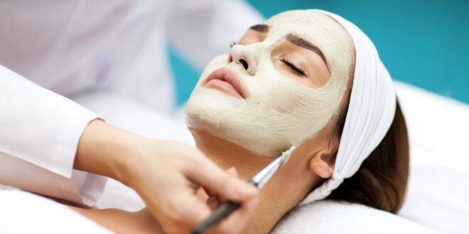 Hĺbkové čistenie pleti aj s depiláciou tváre a úpravou mihalníc a obočia