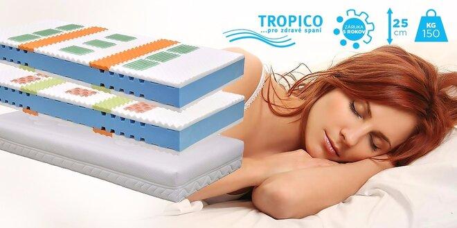 Komfortné matrace Tropico Geltech® Kappa
