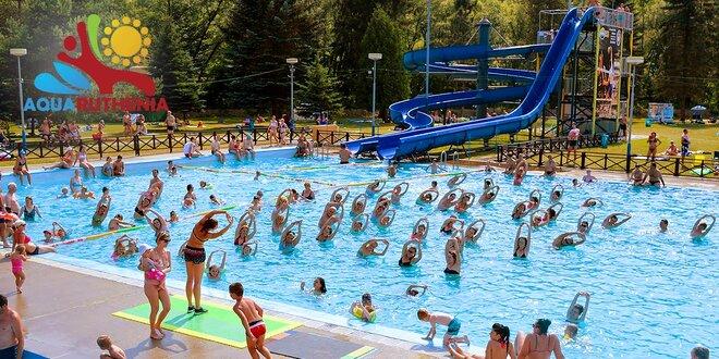 Aquaruthenia Svidník. Umelé vlny, 9 bazénov, tobogány. Perfektná rodinná zábava!