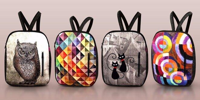 Dizajnové batohy z recyklovaných PET fliaš
