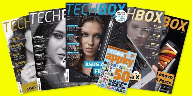 Ročné predplatné časopisu TECHBOX (10 čísel)