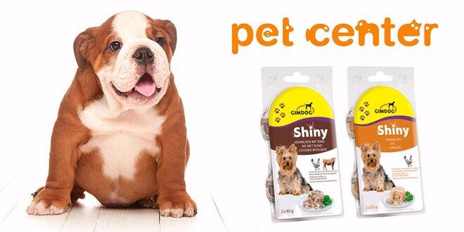 Psia mňamka: 4 konzervy superprémiového krmiva ShinyDog