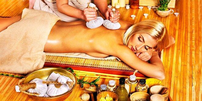 Luxusná thajská masáž v Baan Thai