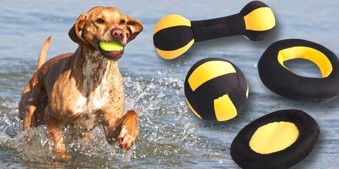 Psie kusy pri vode: Plávacie hračky pre radosť vašich chlpáčov