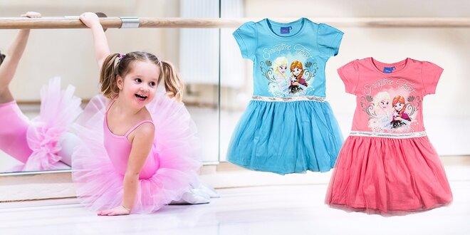 Šaty z Ľadového kráľovstva pre vašu malú princeznú