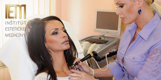 Vyšetrenie a odstránenie znamienok alebo laserové odstránenie kožných výrastkov