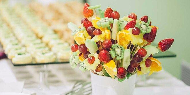 Ovocná kytica - skvelý darček pre každého maškrtníka!