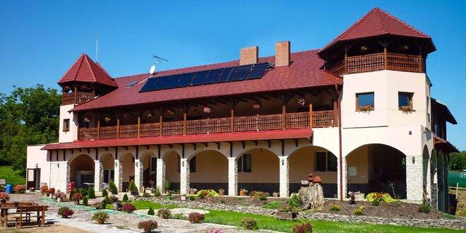 Relaxačný pobyt vo farmárskom prostredí v novom penzióne Radmilla s tradičnou domácou večerou, 20 min. od Podhájskej