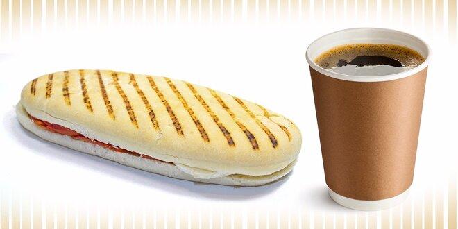 Chutný a zdravý olovrant! Dajte si PANINI take away s kávou alebo čajom