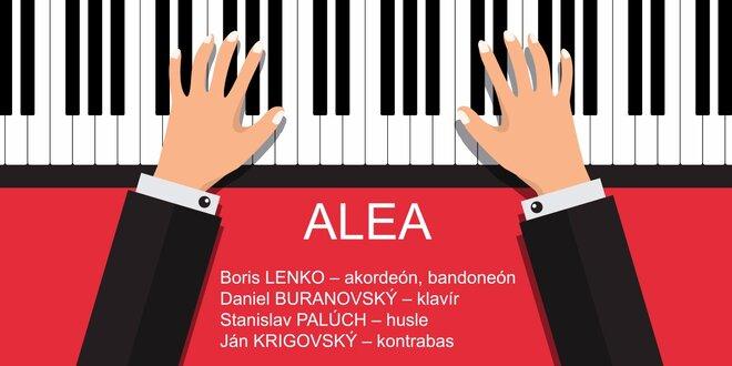 Staromestské kultúrne leto 2016! Koncert skupiny ALEA: Piazzolla a iní!