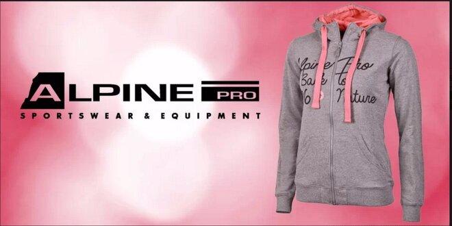 Slušivá dámska mikina Alpine Pro
