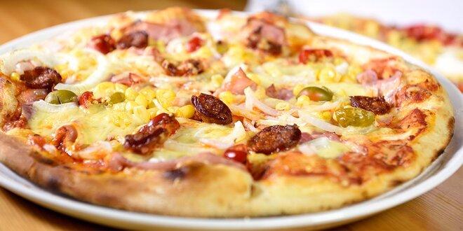 Super pizza v Petržalke - na výber až 17 druhov!