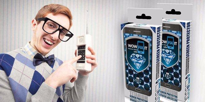 Roztok na ochranu sklených obrazoviek všetkých smartfónov a tabletov