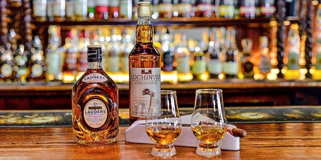 Ochutnávka whisky vo WhiskyBar44 + darček fľaša whisky