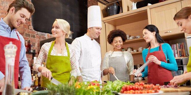 Naučte sa pripraviť chutné a originálne Tapas v La Bottega! Počas kurzu aj 0,5…