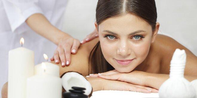 Relaxačná masáž s BIO kokosovým olejom