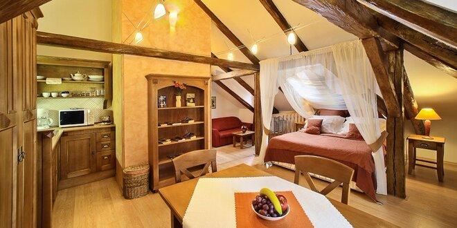Romantické ubytovanie v CASTLE VIEW APARTMENTS v Českom Krumlove
