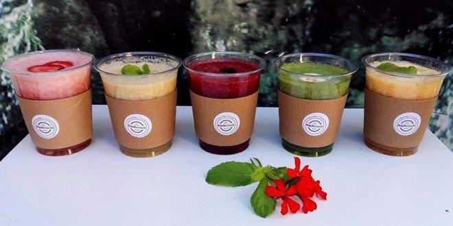 Lahodné take away smoothie podľa vlastného výberu