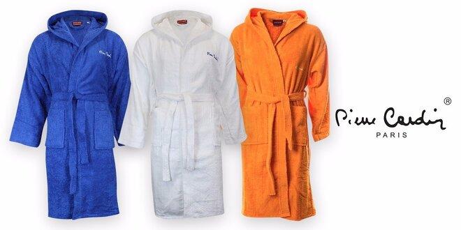 Župany Pierre Cardin unisex v rôznych farbách