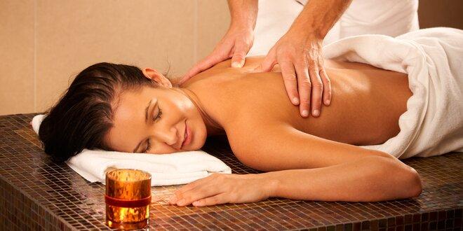 Japonská, klasická, športová, kokosová či mandľová masáž - v ponuke aj lávové…