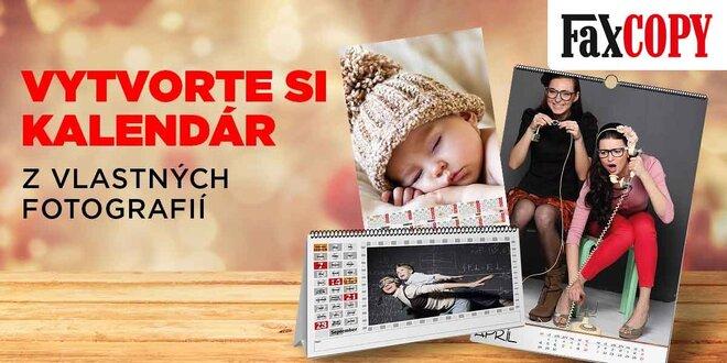 Fotokalendár z vlastných fotografií