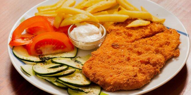 Chutné denné menu v Grill pub nielen pre študentov!