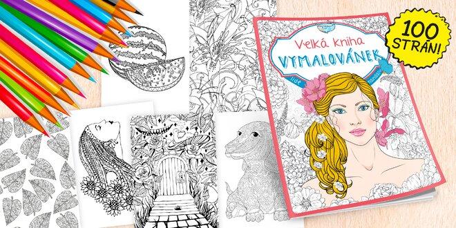 Veľká jesenná kniha maľovaniek: 100 strán!