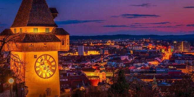 Okúzľujúci advent v mestečku Graz a ľadový Betlehem