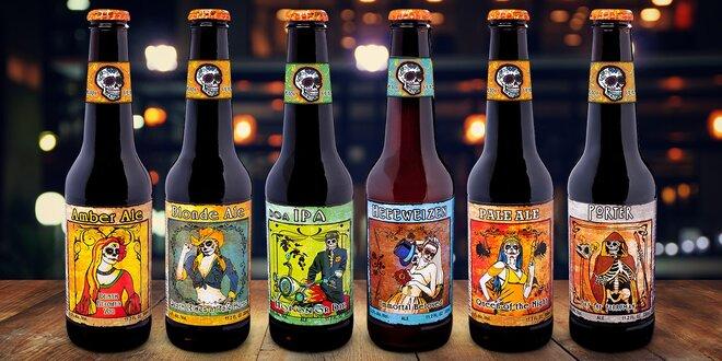 Darček pre pivára: Pivná ochutnávka zo sveta: 6 originálnych mexických pív
