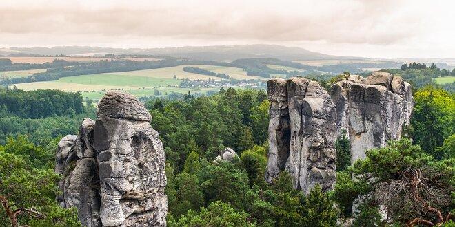Pobyt s raňajkami v malebnej prírode Českého raja