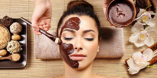 Čokoládové ošetrenie alebo revitalizácia aknóznej a problematickej pleti