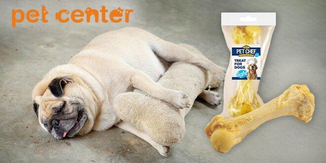 Pet Chef Dog bravčová kosť biela