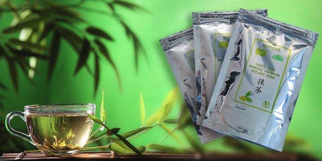 Zelený čaj Matcha naštartuje váš organizmus