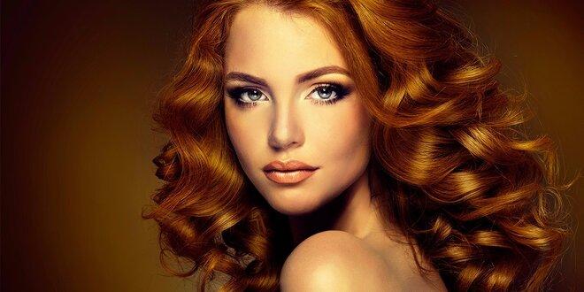 Strihanie aj s farbením, regenerácia a záverečný styling. Dokonalé vlasy!