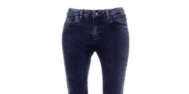 Dámske tmavo modré skinny džínsy Bleifrei