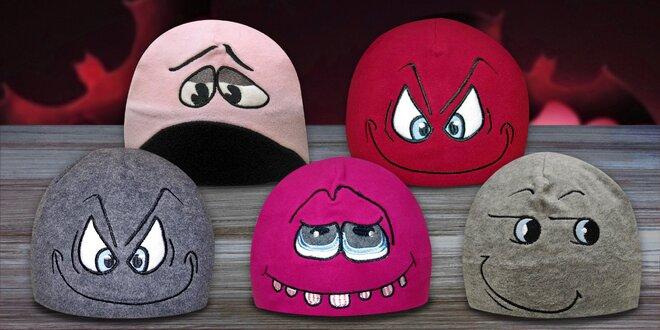 Originálne fleecové čiapky Mess Crazy Caps