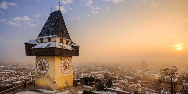 Adventný Graz so sprievodom čertov