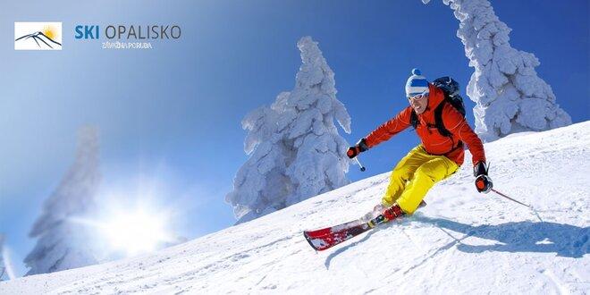 4-hodinový alebo celodenný skipas v lyžiarskom centre OPALISKO