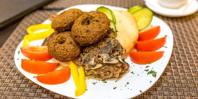 Príjemná orientálna večera v centre mesta: dajte si gyros či arabský tanier!