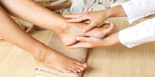 SPA ošetrenie nôh s masážou CND mliekom a možnosťou mokrej pedikúry