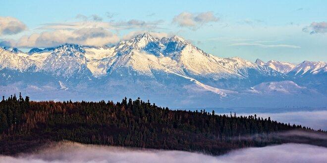Poznávanie krás Vysokých Tatier neďaleko Štrbského Plesa pre 4 osoby