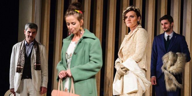 Ruská klasika v Mestskom divadle Žilina. Divadelné predstavenie Falošná minca,…