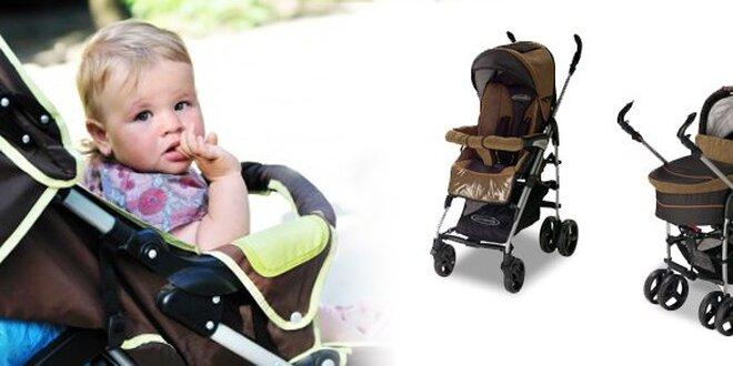 192 eur za multifunkčný detský kočík Birillo a praktickú prenosnú vaničku so zľavou 33%!