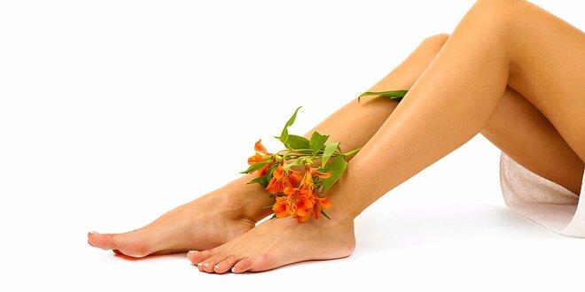 Strojová 45-minútová lymfodrenáž so škoricovým zábalom, vakuová masáž na nohy…