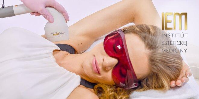 Epilácia diódovým laserom Lumenis LightSheer