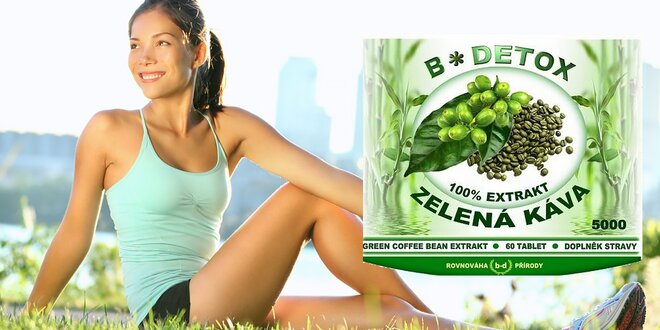 Green Coffee Bean extrakt 5000 - účinné tabletky na chudnutie, 2,5 x silnejšie…