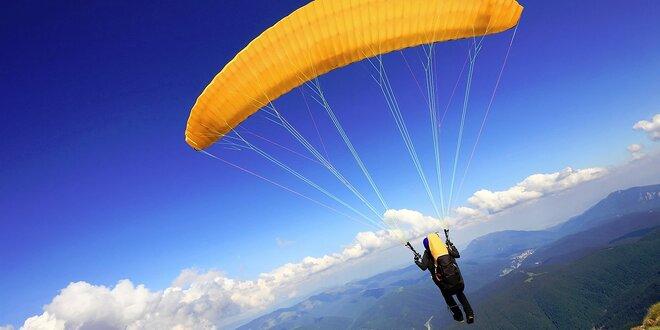 Kurz paraglidingu pre 1 či 2 osoby