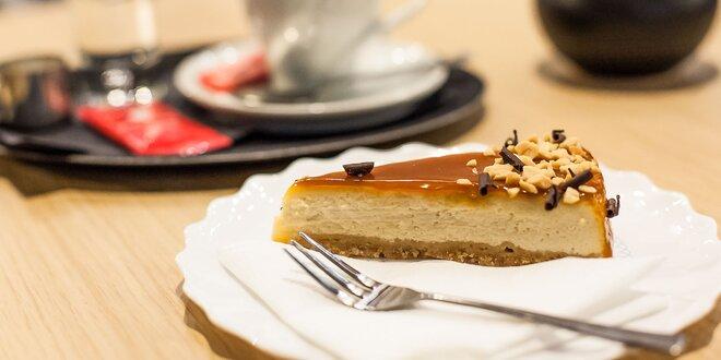 Káva s cheesecakeom - vyberte si zo širokej ponuky!