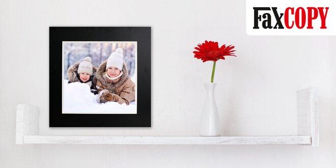 Nástenná dekorácia s vašou fotografiou vytlačenou na lesklej hliníkovej platni